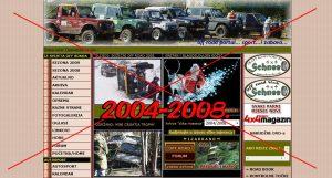 HR off road portal Schnee 2004-2008