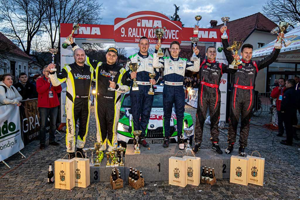 Austrijanci Wagner i Winter pobjednici 9. INA Rally Kumrovec