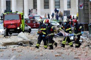 Jak potres u Zagrebu 22.03.2020.