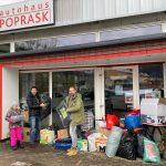 Austrijski off roaderi u Potresu 2020., Glina - Petrinja - Sisak