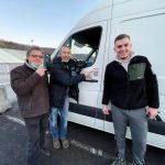 Austrijski i slovenski off roaderi u Potresu 2020., Glina - Petrinja - Sisak