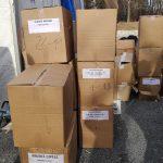 Dostava donacije u CK Glina - Potres 2020.
